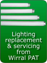 Lighting Replacement from Wirral PAT